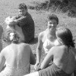 Коля Головчинер: В экспедиции. Река Люта, 1960г.