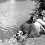 Коля Головчинер: На Плюссе, 1960г.