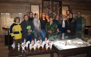 Студенты ПсковГУ в Самолве