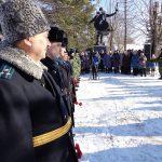 День освобождения Самолвы: митинг у воинского захоронения