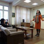 Татьяна Котова открывает выставку работ Тамары Рейн