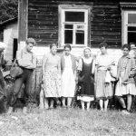 Коля Головчинер: В экспедиции. Коля первый слева, 1960г.