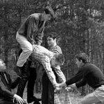 Коля Головчинер: Композиция к 1 мая, 1963г.