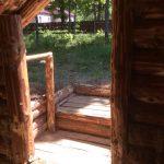 Жилище славян средневековой деревни